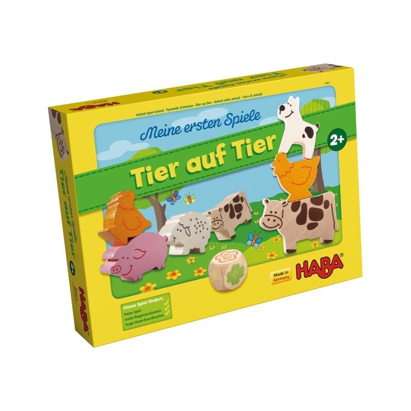 Mis primeros juegos - Animal sobre animal