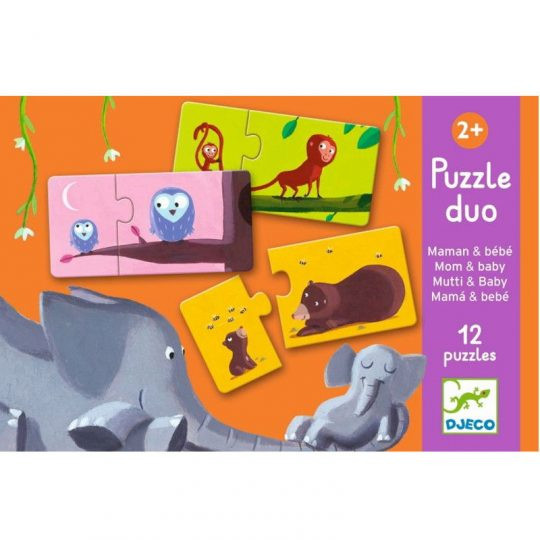 Puzzle dúo Mama y bebé