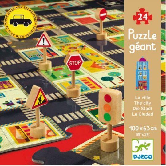 Puzzle Gigante La Ciudad