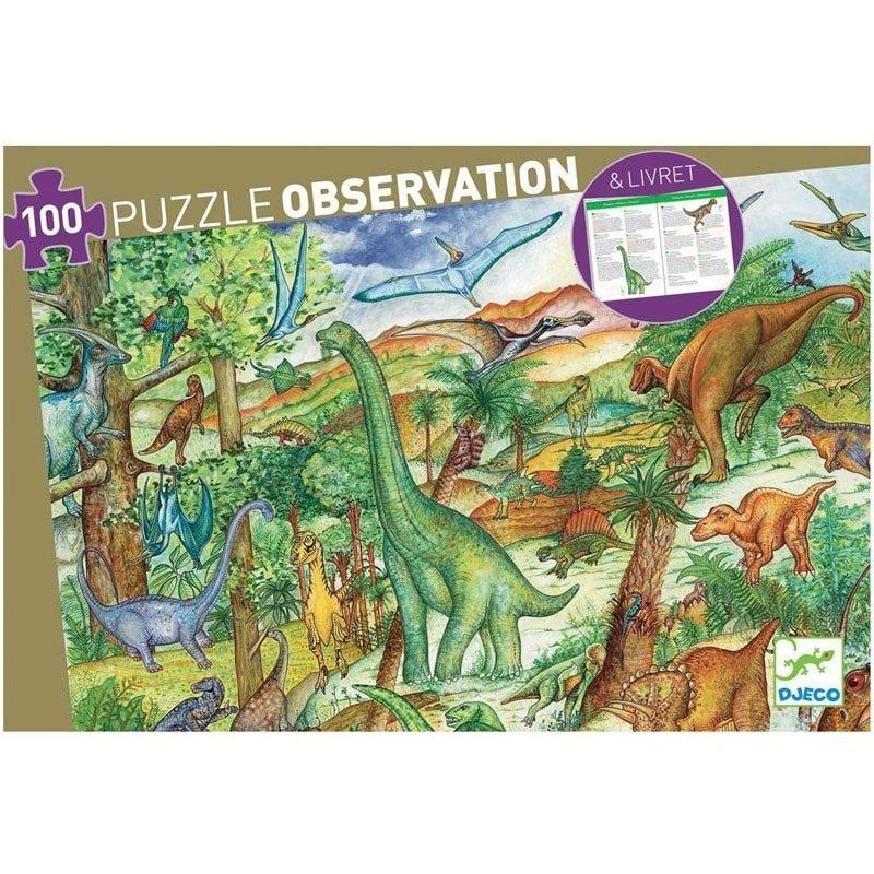 Puzzle Observación Dinosaurios - Monetes
