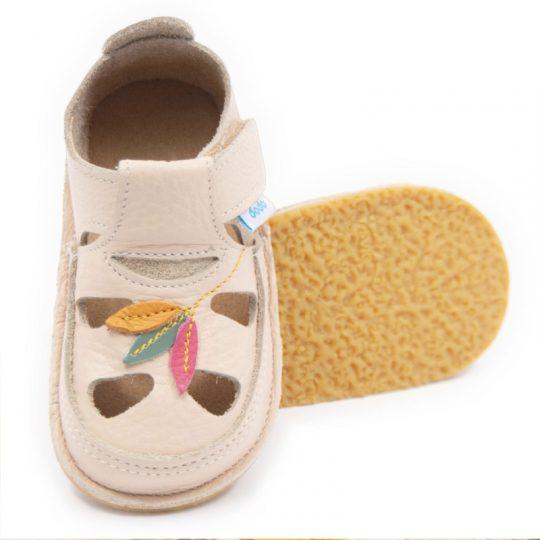 Sandalias infantiles respetuosas - estampadas -