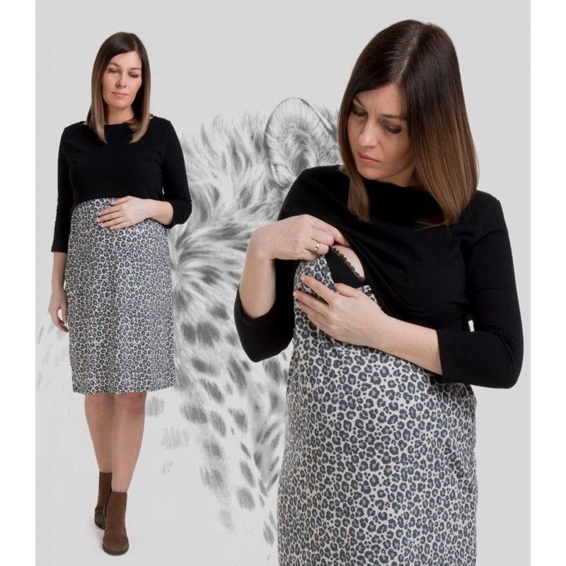 Vestido de embarazo/lactancia - Black Panther - Monetes